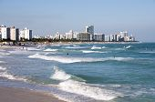 Surf In South Beach. Miami