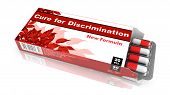 Cure for Discrimination - Blister Pack Tablets.