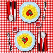 Espaguetis de amor