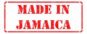 Made in Jamaica on Red Stamp.