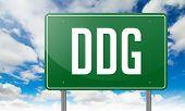 DDG on Highway Signpost.