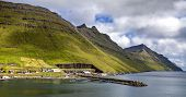 Part Of The City Of Klaksvik, Faroe Islands, North Atlantic2