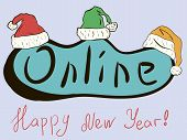 New Year's Online