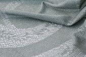Silver Thread Lace Fabric