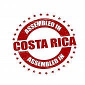 Assembled In Costa Rica