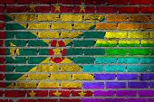 Dark Brick Wall - Lgbt Rights - Grenada