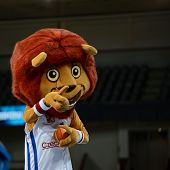 Mascot of Czech national basketball team