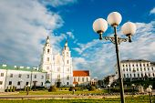 Cathedral Of Holy Spirit In Minsk - The Main Orthodox Church Of Belarus And Symbol Of Capital