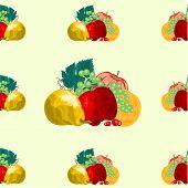 Seamless Texure Fruit Vector