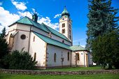 stock photo of mikulas  - Church at town Liptovsky Mikulas at Slovakia - JPG