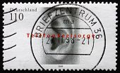 Postage Stamp Germany 1998 Human Ear