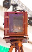 Antique photographic camera