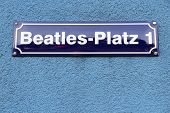 Постер, плакат: Hamburg Beatles Square