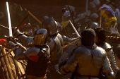 Medieval Battle In Czech Republic poster