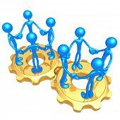Team Networking Gears