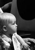 child watching show