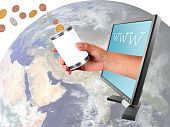 Donating Different Currencies Through Internet