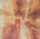 Abstract Warp Triangles Background