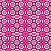 Seamless Geometric Pattern In Pink Spectrum