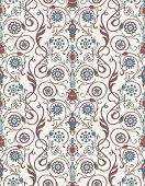 stock photo of brocade  - Vector seamless pattern in Victorian style - JPG