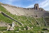 Amphitheater In Bergamo