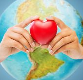 stock photo of planet earth  - people - JPG