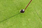 foto of miniature golf  - Close - JPG