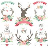 picture of antlers  - Wedding Floral Antlers Collections - JPG
