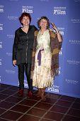 SANTA BARBARA - FEB 5:  Jane Rosemont, Kathy Knapp at the Santa Barbara International Film Festival - American Riviera Award at a Arlington Theater on February 5, 2015 in Santa Barbara, CA
