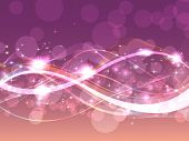 Beautiful abstract background with gradient and radiance. Vector illustration