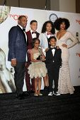 LOS ANGELES - FEB 6: Anthony Anderson, Yara Shahidi, Marcus Scribner, Tracee Ellis Ross, Marsai Martin, Miles Brown at the NAACP  Awards at Pasadena Convention Center on Feb 6, 2015 in Pasadena, CA