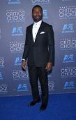 LOS ANGELES - JAN 16:  David Oleyowo arrives to the Critics' Choice Awards 2015  on January 16, 2015 in Hollywood, CA