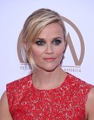 LOS ANGELES - JAN 24:  Reese Witherspoon arrives to the 26th Annual Producers Guild Awards  on January 24, 2015 in Century City, CA