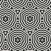 Abstract Seamless Pattern for Background. Repeating Geometric Tiles