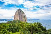 The Sugarloaf Mountain in Rio de Janeiro, Brazil
