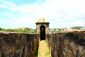The entrance to the observation tower, Galle Fort