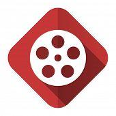 film flat icon