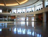 a generic airport interior