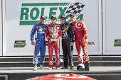 Daytona Beach, FL - Jan 25, 2015:  The Tudor United SportsCar Championship teams take to the track for the Rolex 24 at Daytona International Speedway in Daytona Beach, FL.