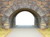 stock photo of entryway  - Ancient gate with space for your text - JPG