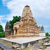 image of khajuraho  - Parsvanatha and Adinath Jain temples - JPG