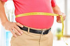 foto of big belly  - Close - JPG