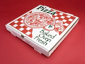 Italian Pizzeria Pizza Box