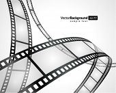 picture of stripping  - Film strip vector background - JPG