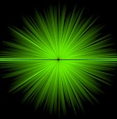 Abstract green cosmic background (big explosion in the space)