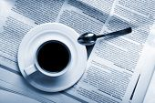 Coffee, news