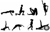 Exercise Silhouettes