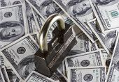 Heap Of Money And The Lock