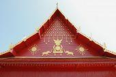 Roof of Buddha Sanctuary