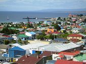 Cityscape Of Punta Arenas, Chile